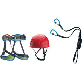 Camp Kit Ferrata Vortex with Harness Topaz and Helmet Rockstar